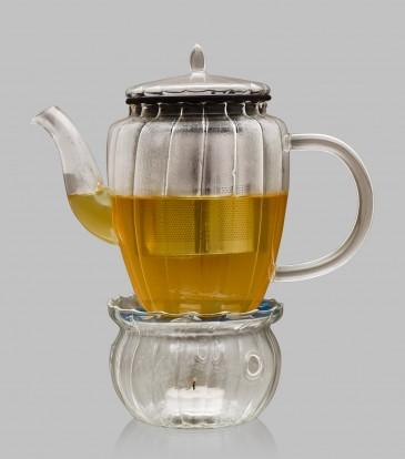 Borosilicate Teapot With warmer
