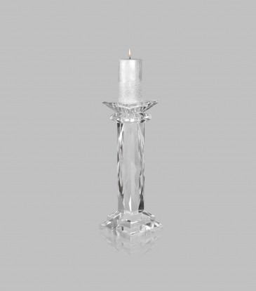 Vivid  Crystal Candle Stand Small