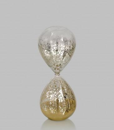 Quartz Hour Glass Tan Small