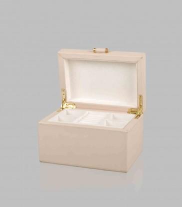 Quinn Jewellery Box Cream