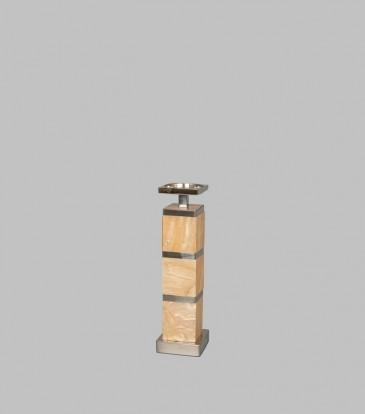 Rose Quartz, Candle Holder Small