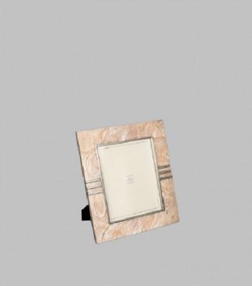 """Rose Quartz Frame 5x7"""""""