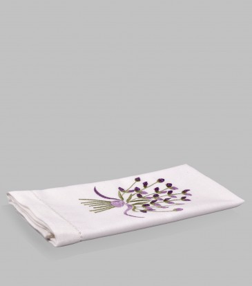 Lavender Peony Guest Towel
