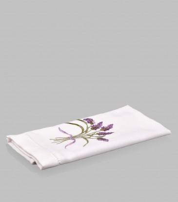 Lavender Silk Guest Towel