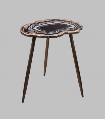 Reza Side Table Grey
