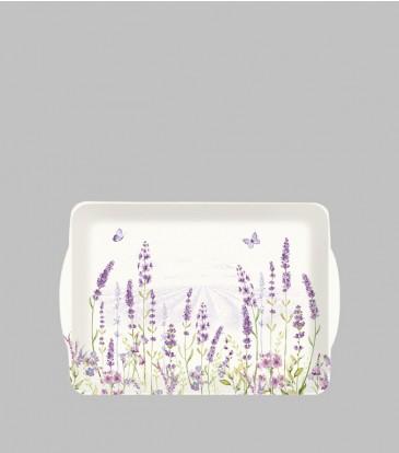 Lavender Field Tray Small