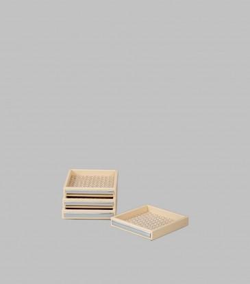 Woven Coasters Set S/4