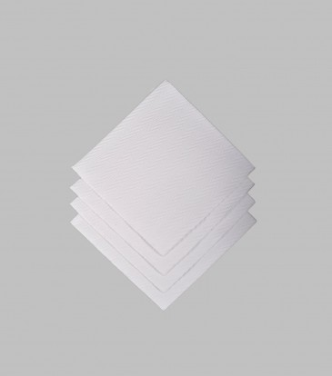 Moments Woven Pearl Paper Napkins S/20