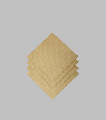 Moments Woven Gold Paper Napkins S/20