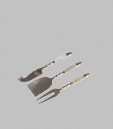 MOP Cheese Knife and Dessert Fork Set of 3