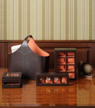 Gentleman watch box for 8 watches