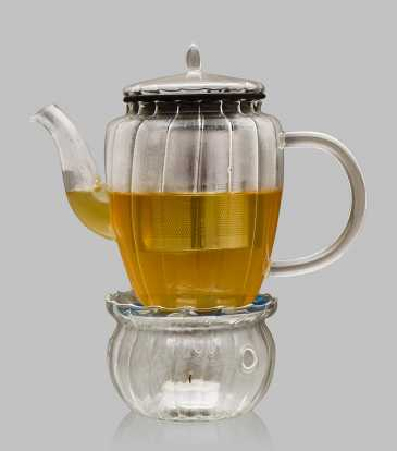 Borosilicate Teapot With warmer