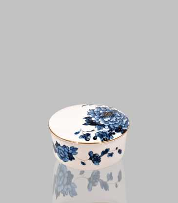 Emperor Flower Round Jewelry Box