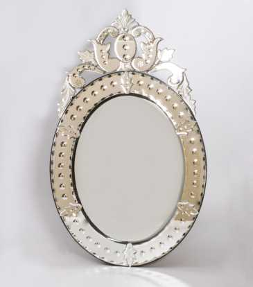 Bubble Mirror Oval -SS321