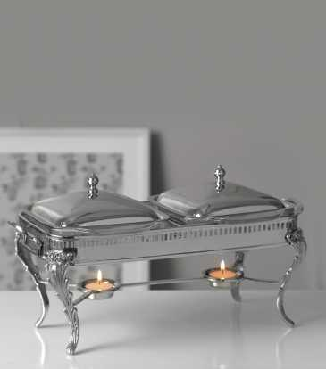 Gourmet Twin chafing Dish