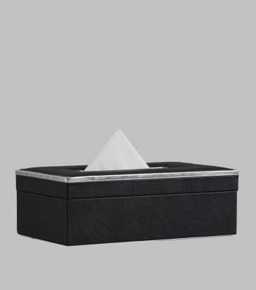 Splender Tissue Box Black