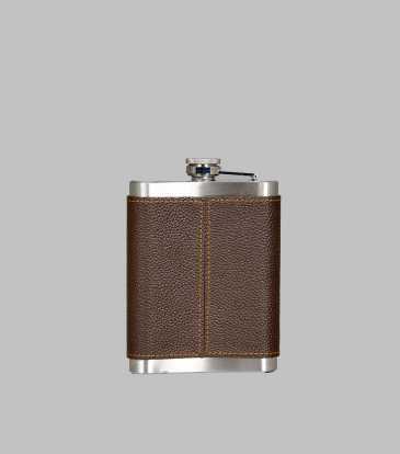 Walnut Hip Flask