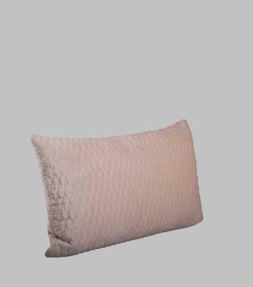 Turkish Velvet  Deck Pillow Blush