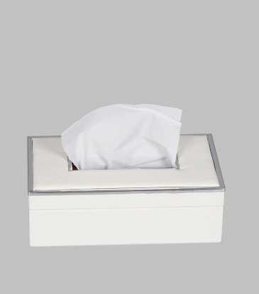Miranda Tissue Box White