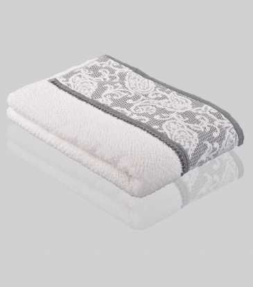 Aerospin Grey Bath Towel