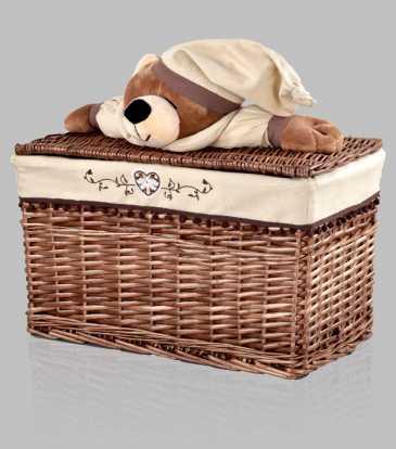 Ted Bamboo Basket Large