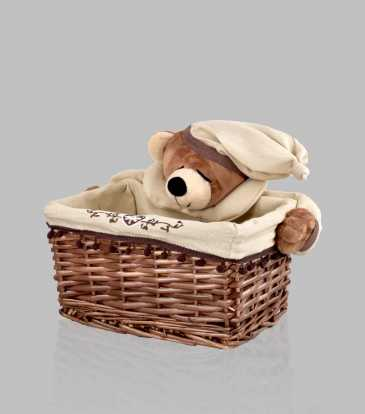Ted Bamboo Basket Small