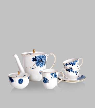 Emperor Flower Tea Set of 17
