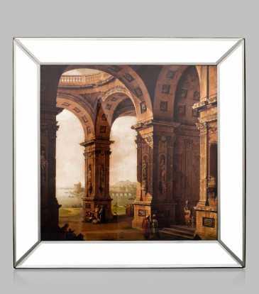 Roman Architecture - Beveled Frame