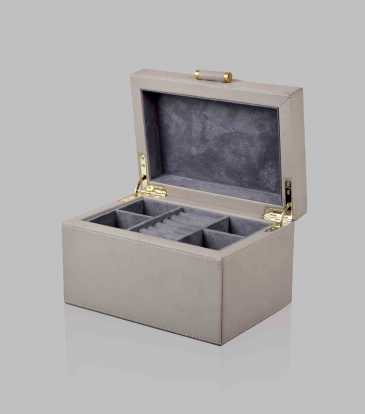 Quinn Jewellery Box Grey