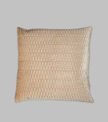 Turkish Velvet  Cushion Beige