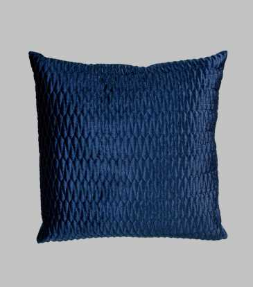 Turkish Velvet Cushion Royal Blue
