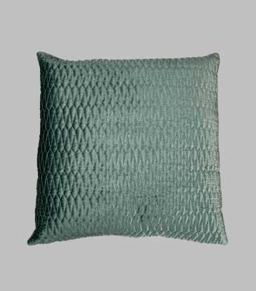 Turkish Velvet Cushion Green