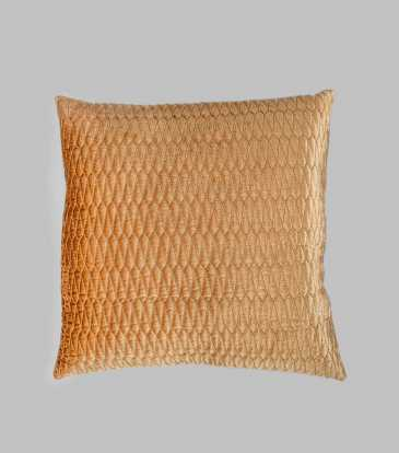 Turkish Velvet Cushion Gold