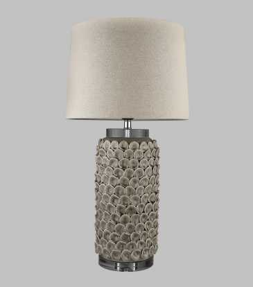 Shell Taupe lamp