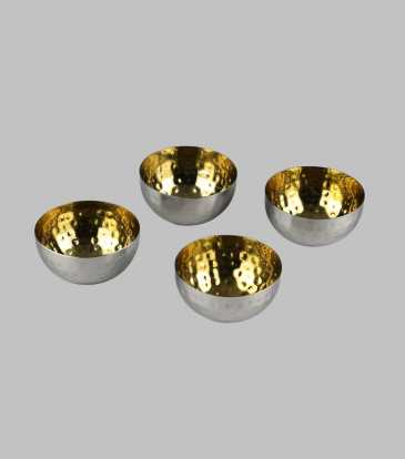 Hammered Floaters Set of 4