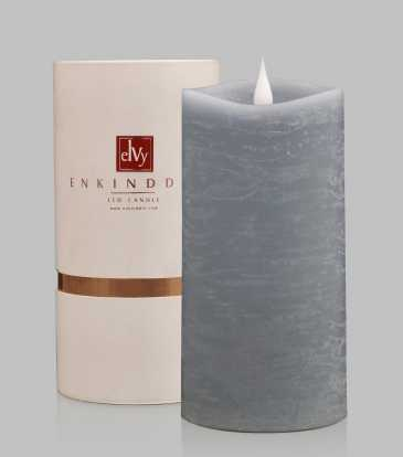 Enkinddle Led Candle Light Blue