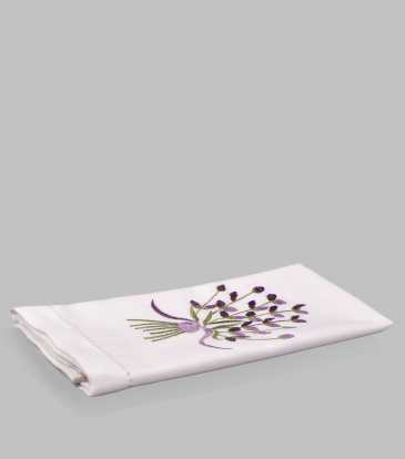 Lavender Peony Guest Towel