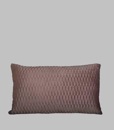 Turkish Velvet  Deck Pillow Fig
