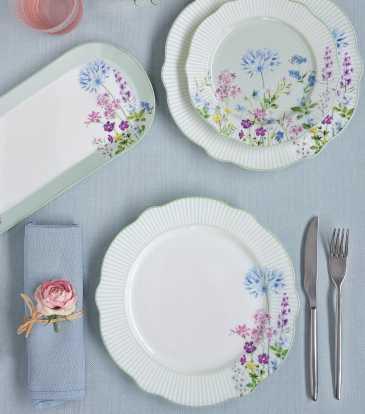 Floraison Add on Dinner Set of 18 pcs