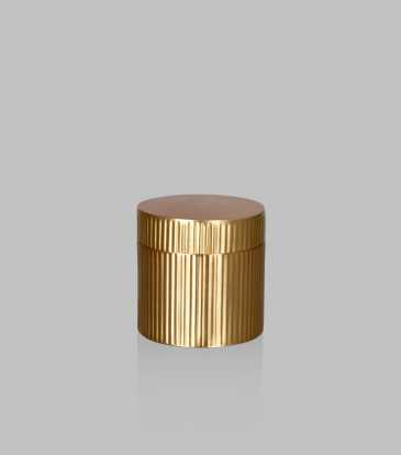 Strip Cotton Jar Gold