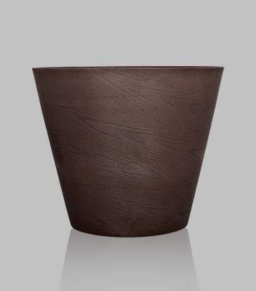 Gesso Planter Chocolate Large