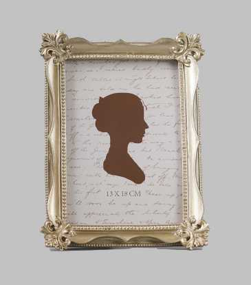 "Empress Frame Champagne Gold 5x7"""