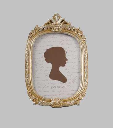 "Empress Oval Frame 5x7"""