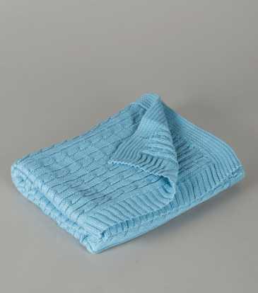 Blanket Granny's Love Blue