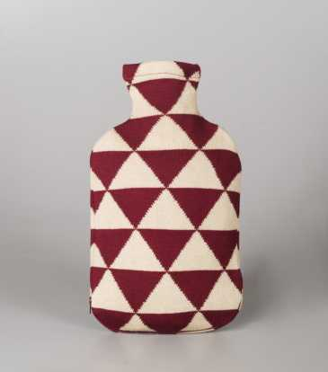 Hot water bottle Cover Triangular style