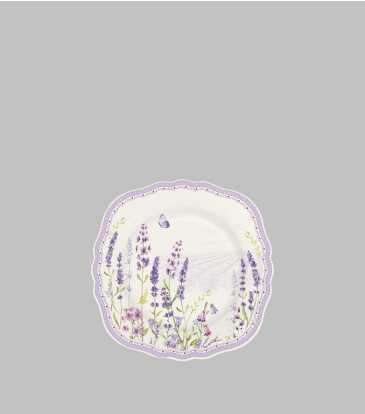 Lavender Field Snack Plate