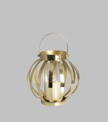 Belle Lantern Medium Gold