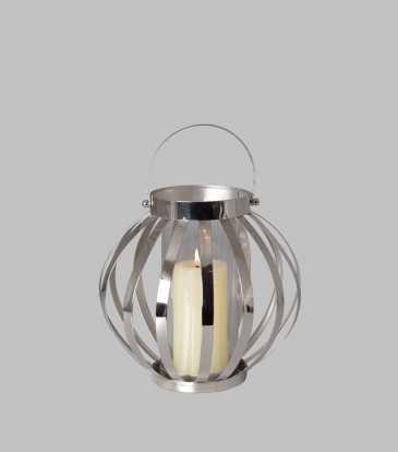 Belle Lantern Medium Nickel