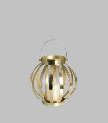 Belle Lantern Small Gold