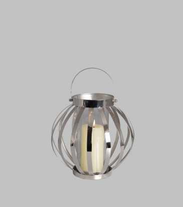 Belle Lantern Small Nickel